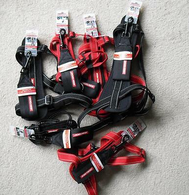 EZYDOG Dog Chest Plate Harness + Car Restraint Various Sizes / Colours - EZY DOG