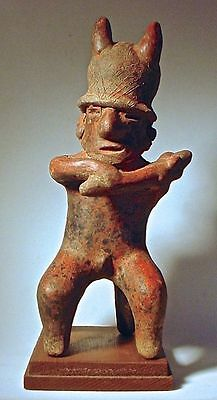 Pre-Columbian Warrior Nayarit Mexico Ex Sothebys '77