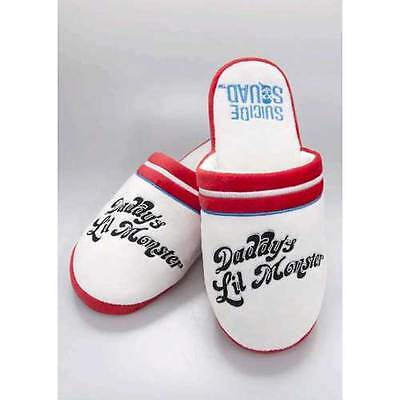 Suicide Squad - Harley Quinn Mule Slippers 5-7 NEW Groovy
