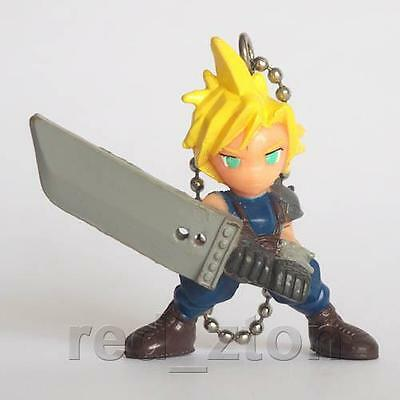 Final Fantasy VII Swing Figure Keychain - Cloud