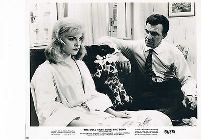 Virna Lisi - The Doll that took the town - Vintage publicity Photograph