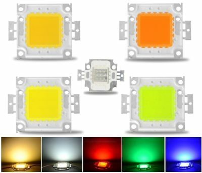 LED Chip COB Strahler Fluter Lampe Weiß Farbe 10W 20W 30W 50W 100W LED Chip 157