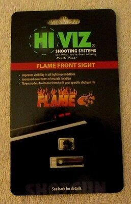 New HIVIZ Flame Front Sight - Red