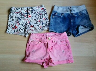 girls Justice size 6/7 shorts-  3 piece lot!!