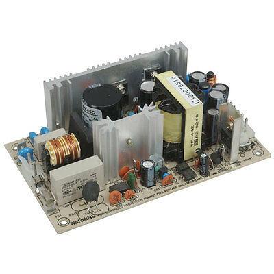 Mean Well PT-65C AC to DC Power Supply Open Frame Triple Output 5 Volt 15 Volt 1