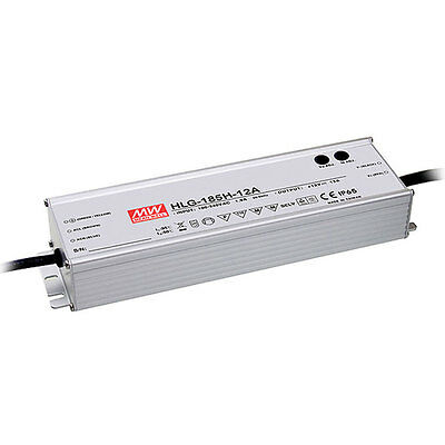 Mean Well HLG-185H-C1400A 200W Single Output LED Power Supply