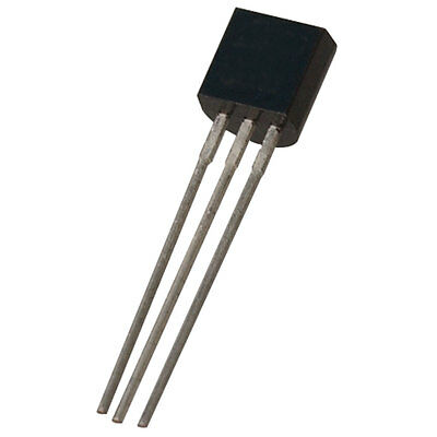 Analog Devices TMP36GT9Z Temperature Sensor Analog, 3 Pin TO-92 10 pcs