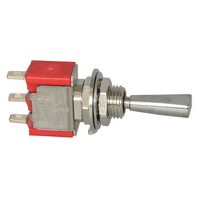 Toggle Switch Momentary (On) Off Momentary (On) Single Pole Double Throw  6 pcs