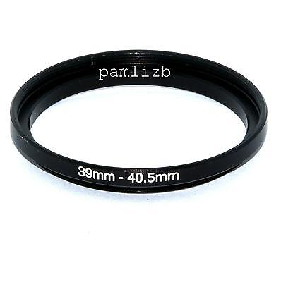 39-40.5mm camera lens Filter stepping adapter ring   , 39mm -  40.5mm