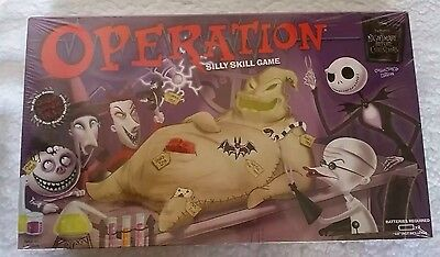 Nightmare Before Christmas Operation New Tim Burton Game Collector's Edition