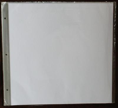 12x12 Ring Binder Scrapbook Album Refill Page Protector