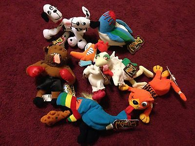 MEANIES Series 1, 2 & INFAMOUS - Idea Factory - NWT Hurley Road Kill Quack Duck
