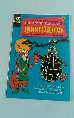 The Adventures Of Robin Hood #2 1974 Whitman