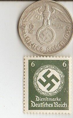 -*lot  of   - 4 -  WW2 - *US  and  *german  coins  and   stamps +..