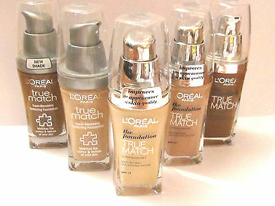 L'Oreal True Match Super Blendable Perfecting Foundation Makeup - 30ml