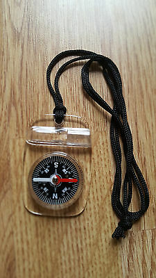 Mini Compass Army Scouts Outdoor Boating Map Reading Orienteering