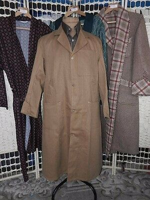 """RARE vintage 1978 overalls dust coat shopkeeper by REMPLOY  deadstock 40/42"""""""