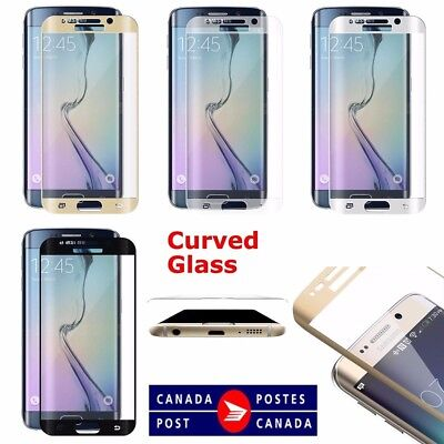 Full Curved 3D Tempered Glass Screen Protector For Samsung Galaxy S7 & S7 Edge