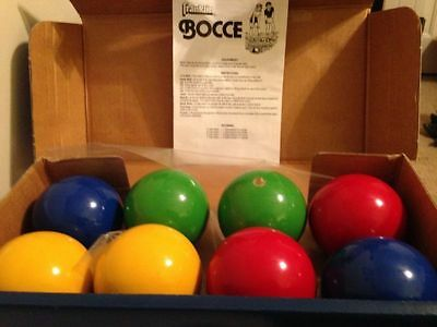 Vintage Franklin Bocce Sport Made In Italy, Estate Find - Fun For All.
