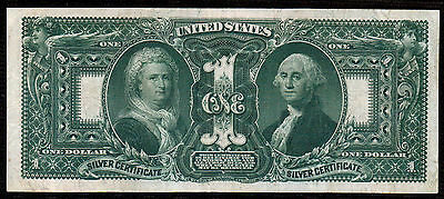 "1896 $1 Silver Certificate VF+-XF ""Educational"""