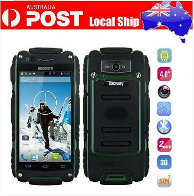 AU Rugged Android Smartphone Unlocked Mobile Phone Dual Core Dustproof Discovery
