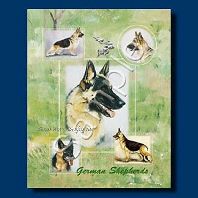 GERMAN SHEPHERD Dog Present Gift Bag