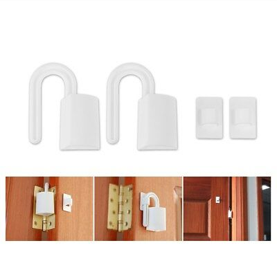 2pcs Baby Kids Safety Door Stop Anti Finger Pinch Guard Lock Stopper Protector