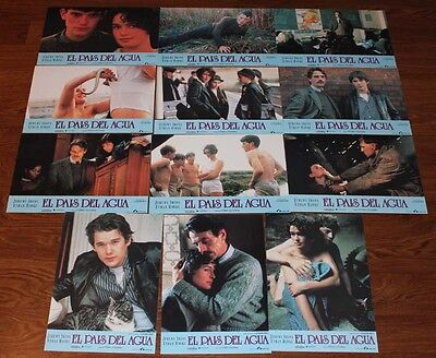 Jeremy Irons Waterland lobby card set 12 Ethan Hawke