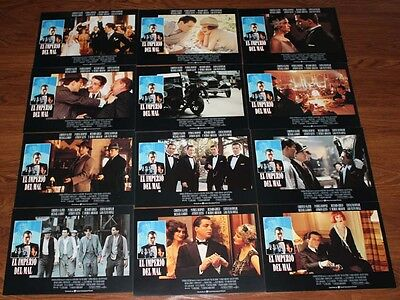 Christian Slater Patrick Dempsey Mobsters lobby card set 12 Richard  Grieco