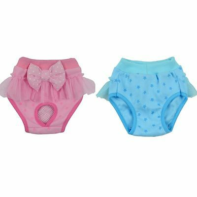 Pets Dog Bowknot Underwear Puppy Physiological Panties Sanitary Briefs Pants New