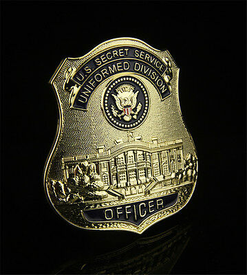 High Quality US SECRET SERVICE UNIFORMED DIVISIION Badge Officer Collection Gift