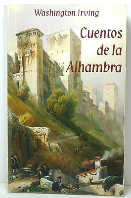 Cuentos de la alhambra, Washington Irving, Edilux