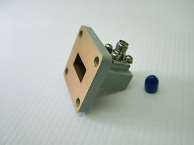 WR62 Waveguide Adapter To SMA NEW 62WCAS 12 - 18GHz