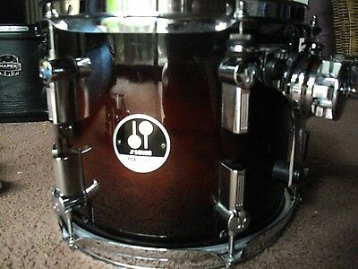 """Sonor Force 3007 10""""x8"""" maple rack tom + clamp and arm"""