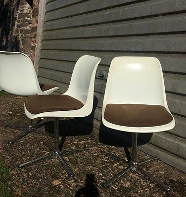 Oskar Winkler Lohr, OWL chairs, 60s space age chairs, West German retro chairs