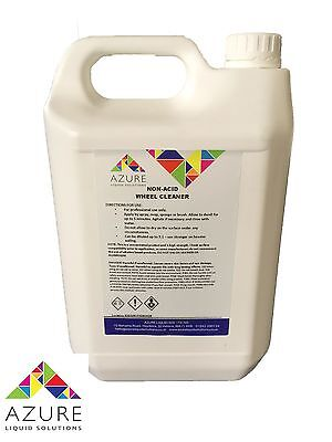 Wheel Cleaner 5L - Non Acid - Professional Use  - NEXT DAY DELIVERY