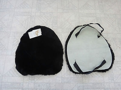 Sheepskin Motorcycle Seat cover Seat Motorbike Seat Pad For Solo Seat