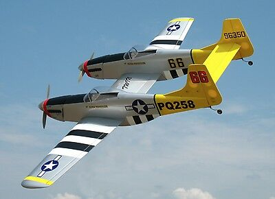 RC Model Aircraft - Very Rare EZ Twin Mustang Kit - Wing Span 1610mm