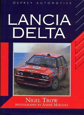 Lancia Delta by Nigel Trow RARE book from 1993