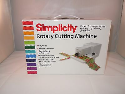 Rotary Cutting Machine Brand New Simplicity Uk Seller