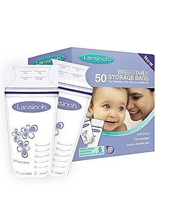 Lansinoh Breastmilk Storage Bags (50 Pieces) 50 Bags
