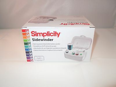 Sidewinder / Bobbin Winder Simplicity Portable Brand New Uk Seller