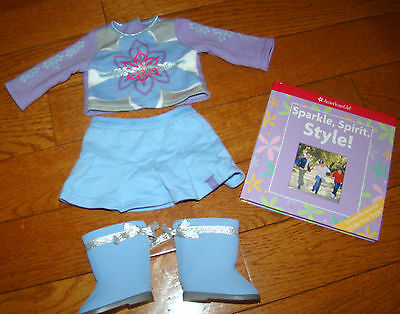 American Girl I Like Your Style Meet Outfit With Boots Book & Cd