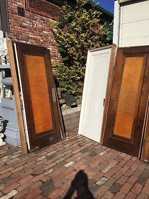Ar 136 Set Of 13 Matching Birch Passage Doors With Jams
