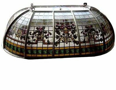 Leaded And Hand Painted Glass Dome/Skylight #4461