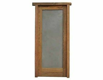 Single Solid Door With Cement Panel #C1545