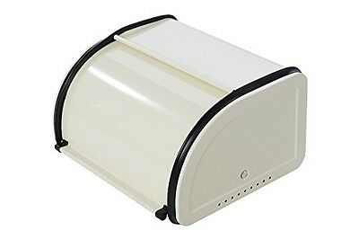 Juvale Roll Top Bread Box For Kitchen - Bread Bin Storage Container For Loaves,