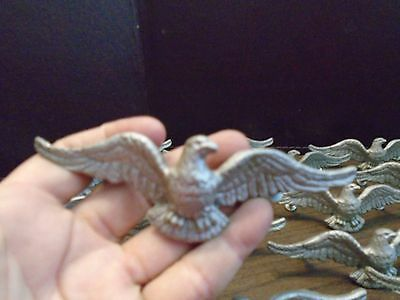 Cast Aluminum Drawer Pulls - Patriotic Eagle - Spread Wings - WILTON