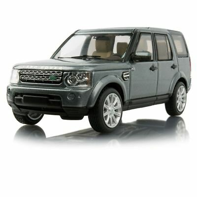 Genuine Land Rover Discovery 4 1:43 Scale Model in Indus Silver