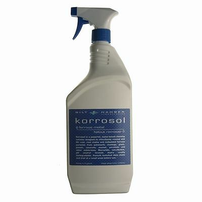 Bilt Hamber Korrosol 1 Litre Trigger Spray Rust Metallic Particle Remover NEW